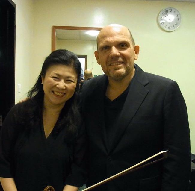 with Maestro Jaap